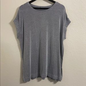 Zara Striped Sleeveless Tee sz XL